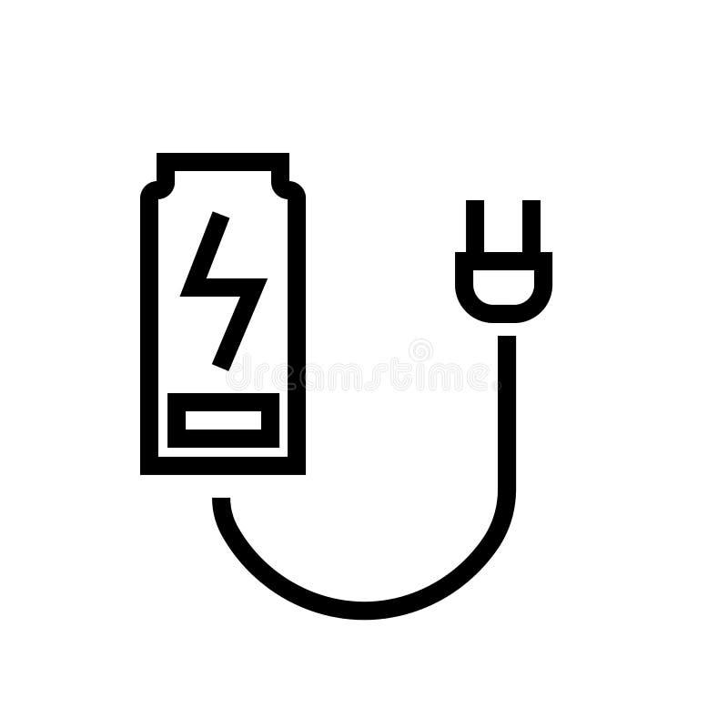 Vector del icono de la estación de carga libre illustration