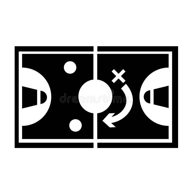 Vector del icono de la estrategia ilustración del vector