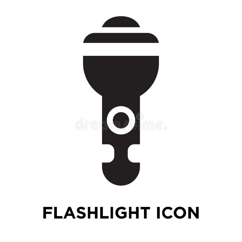 Vector del icono de la linterna aislado en el fondo blanco, concep del logotipo ilustración del vector
