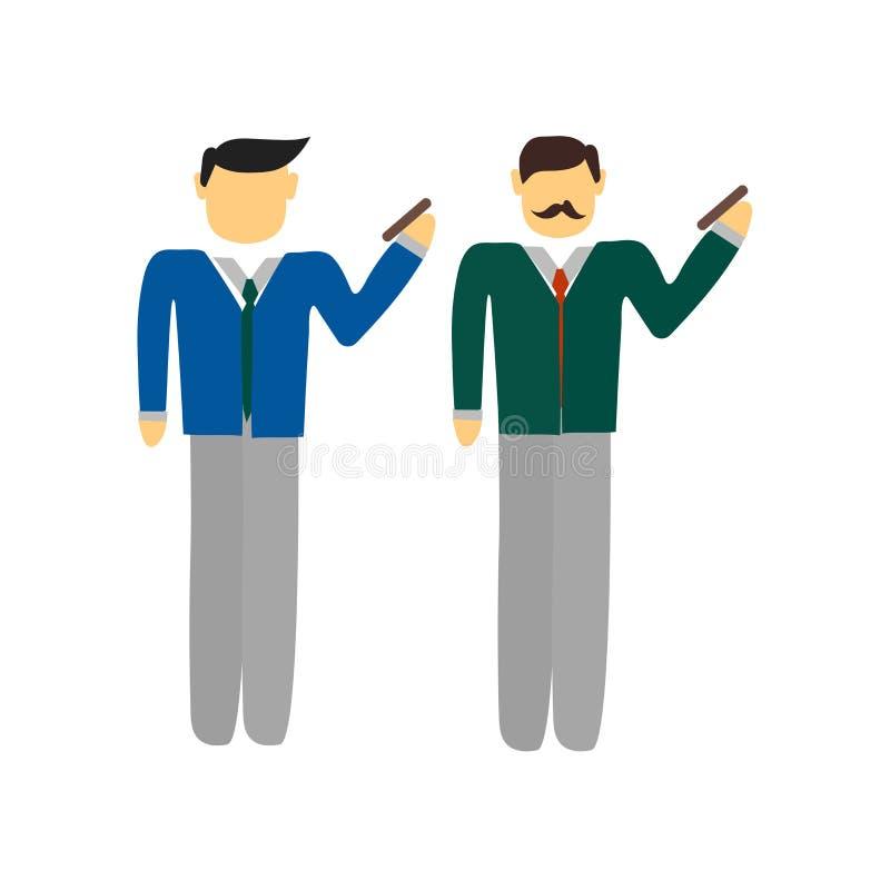 Vector del icono de la llamada de teléfono aislado en el fondo blanco, indicativo de teléfono libre illustration