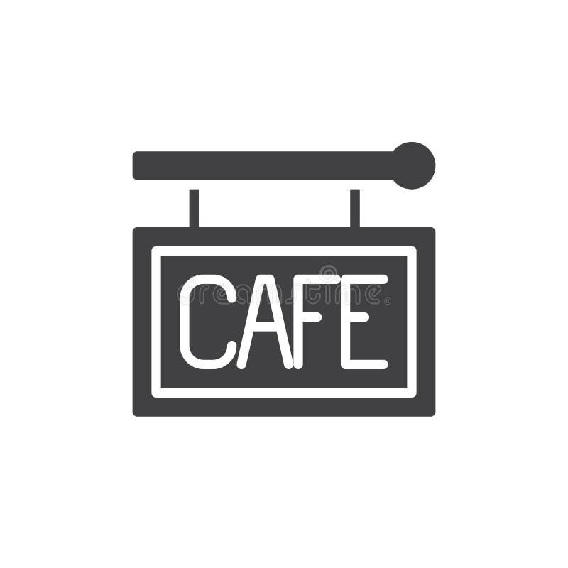Vector del icono de la muestra del café libre illustration