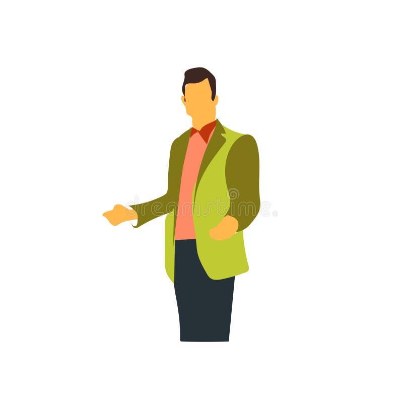 Vector del icono de la presentación aislado en el fondo blanco, muestra de la presentación ilustración del vector