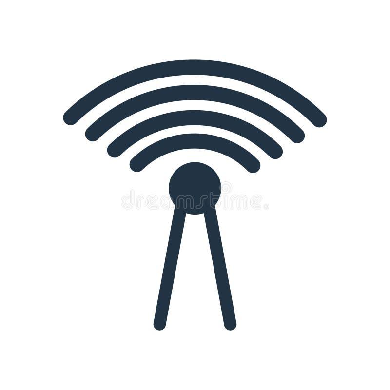 Vector del icono de la red aislado en el fondo blanco, muestra de la red stock de ilustración