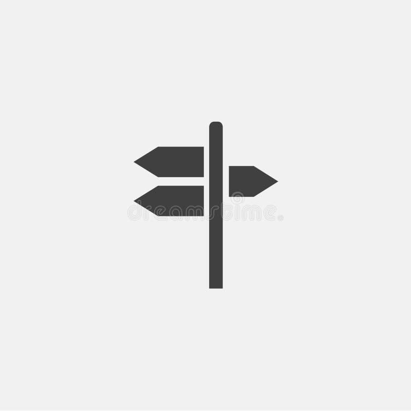 vector del icono de la señal de tráfico foto de archivo libre de regalías