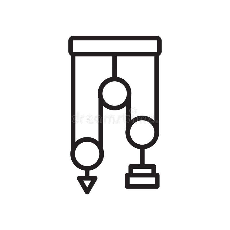 Vector del icono de los mecánicos aislado en el fondo blanco, mecánicos si ilustración del vector