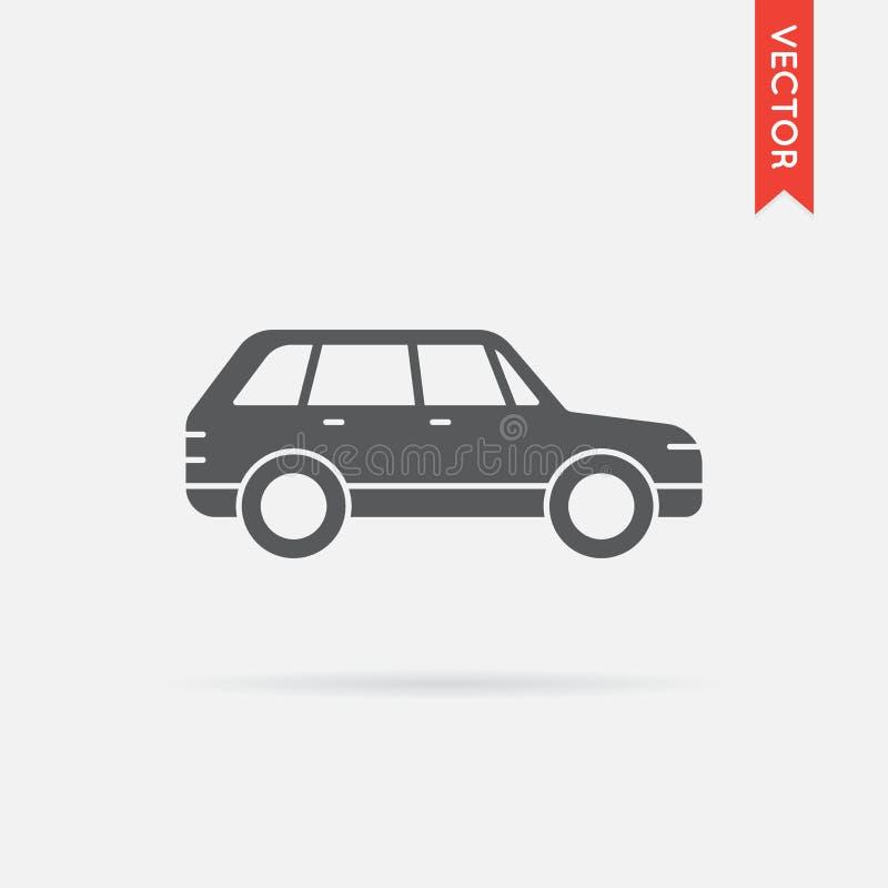 Vector del icono del coche ilustración del vector