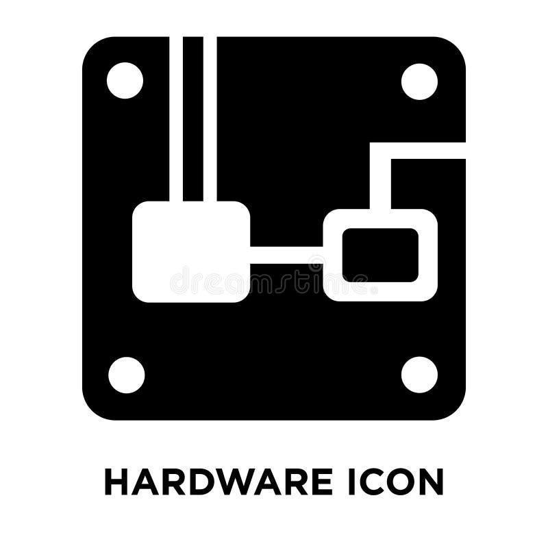 Vector del icono del hardware aislado en el fondo blanco, concepto del logotipo ilustración del vector