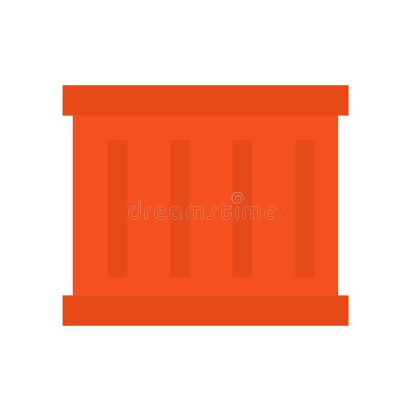 Vector del icono del paquete aislado en el fondo blanco, muestra del paquete, símbolos de la industria stock de ilustración