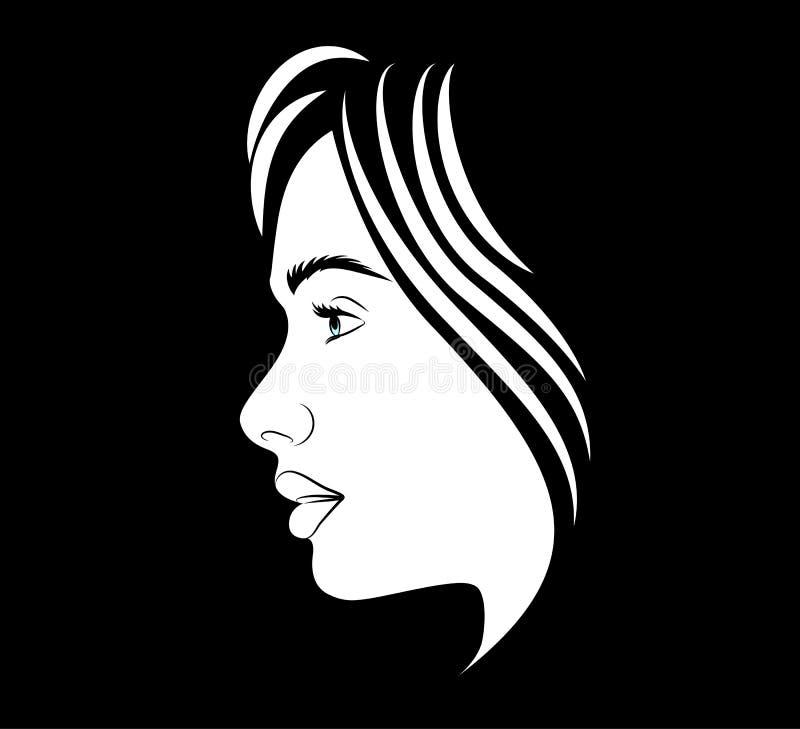 Vector del icono del pelo stock de ilustración