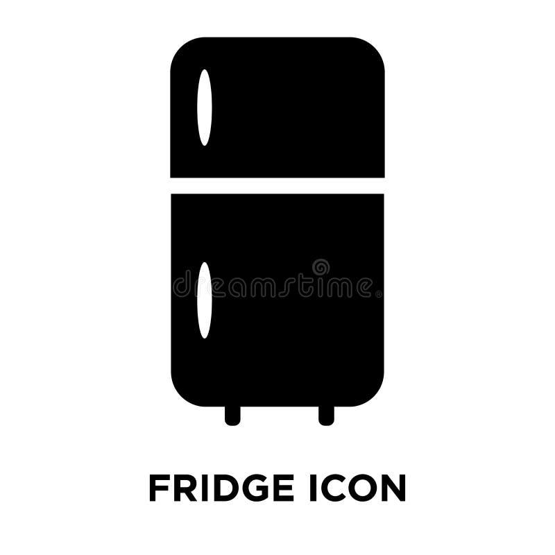 Vector del icono del refrigerador aislado en el fondo blanco, concepto del logotipo de ilustración del vector