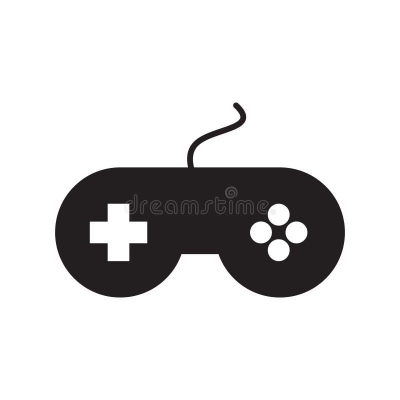 Vector del icono del regulador del juego stock de ilustración