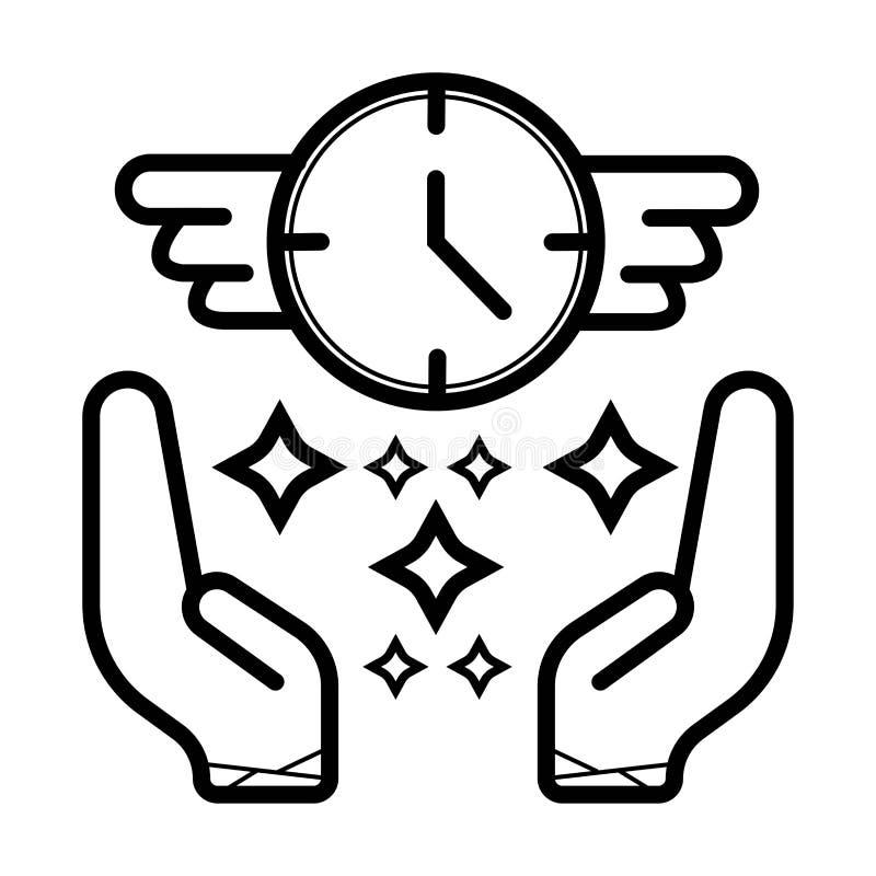 Vector del icono del reloj libre illustration