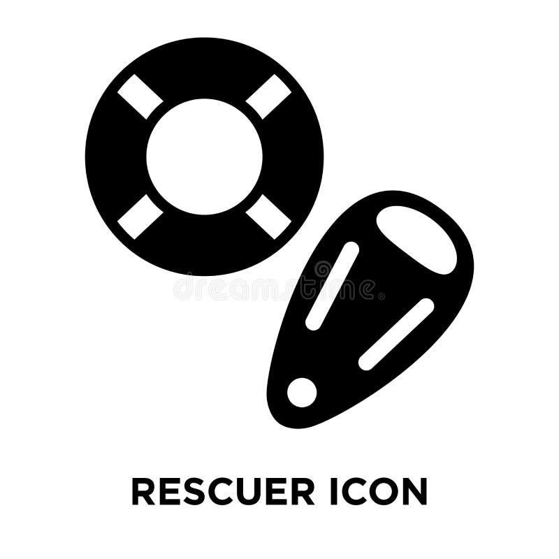 Vector del icono del salvador aislado en el fondo blanco, concepto o del logotipo ilustración del vector
