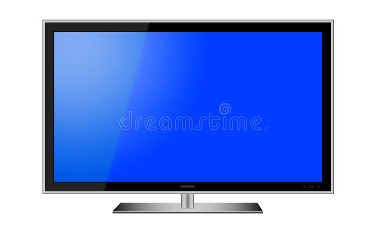Vector del LCD TV libre illustration