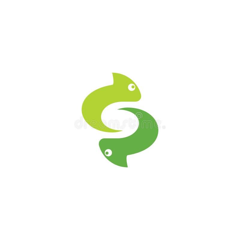 Vector del logotipo del camale?n ilustración del vector