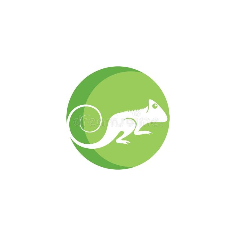 Vector del logotipo del camale?n libre illustration