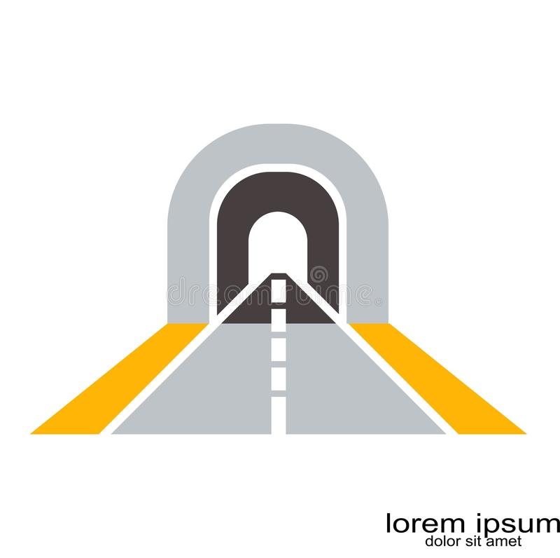 Vector del logotipo del camino ilustración del vector