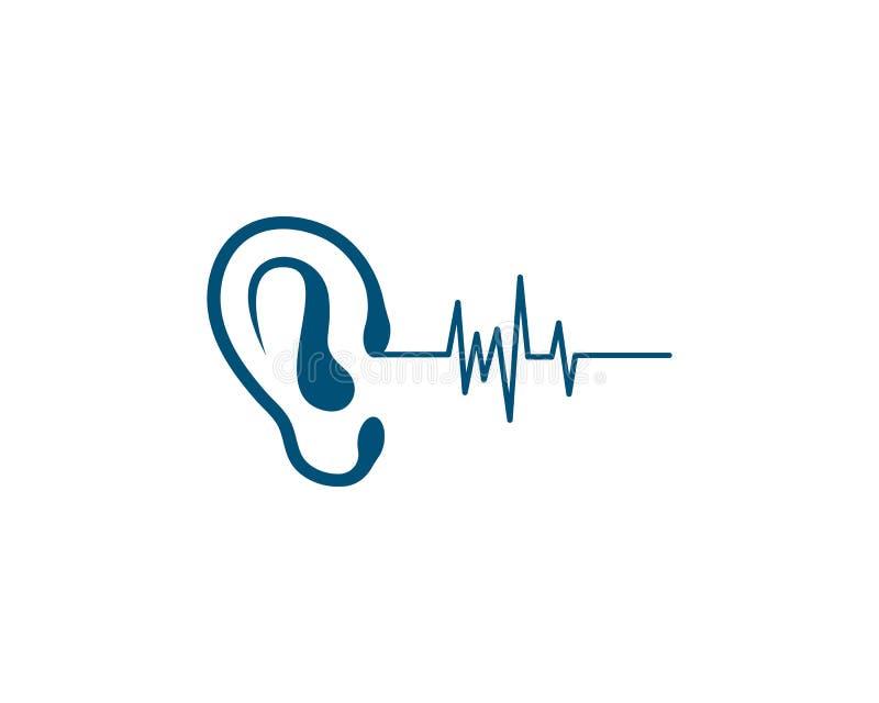 Vector del logotipo de la audición libre illustration