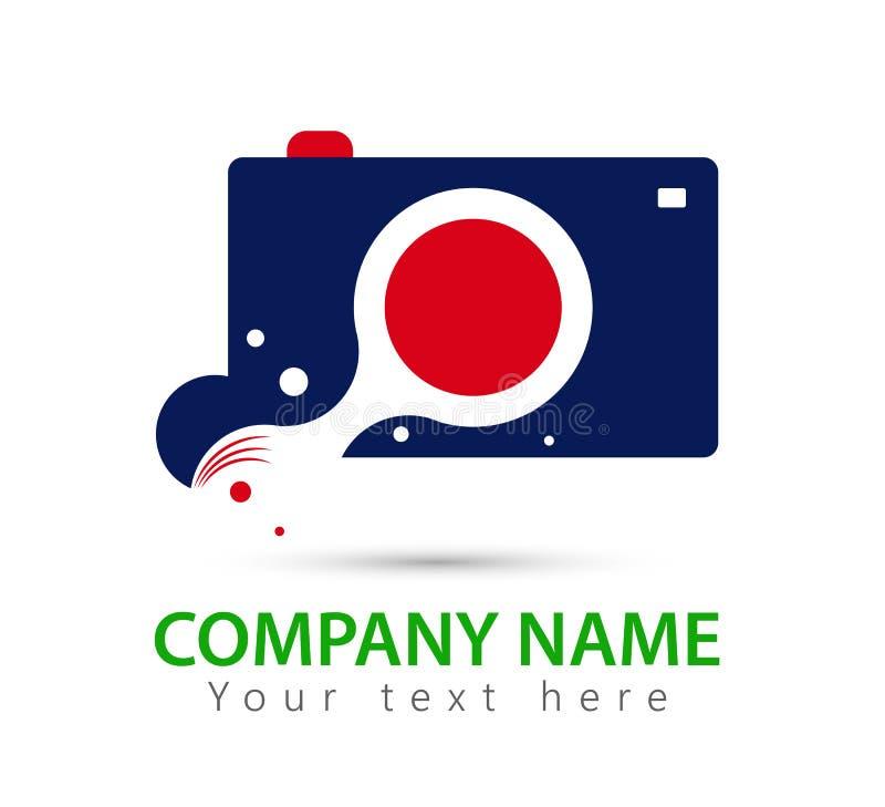 Vector del logotipo de la cámara libre illustration