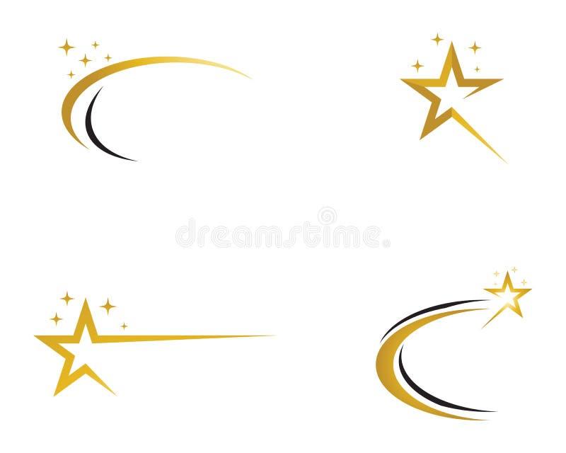 Vector del logotipo de la estrella e icono de la plantilla libre illustration