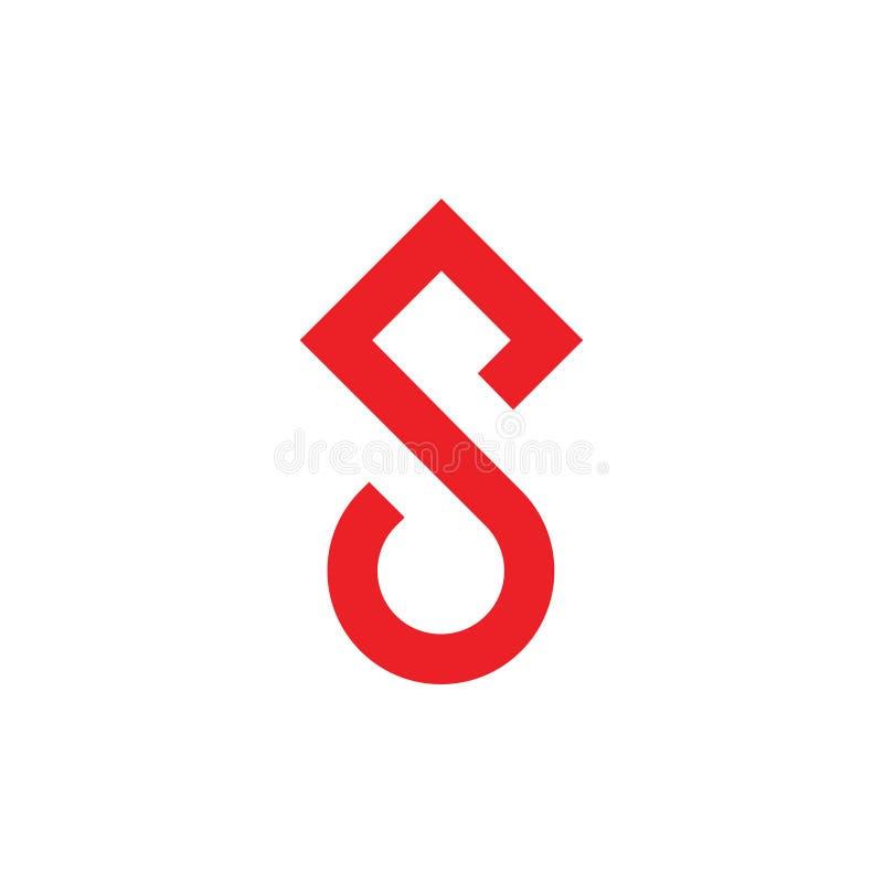 Vector del logotipo de la flecha del círculo de la letra s libre illustration