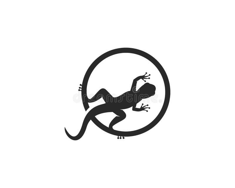 Vector del logotipo de la salamandra libre illustration