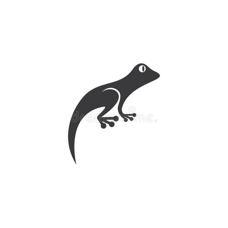 Vector del logotipo de la salamandra ilustración del vector