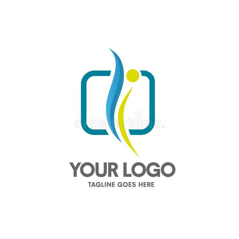 Vector del logotipo de la salud que entrena libre illustration