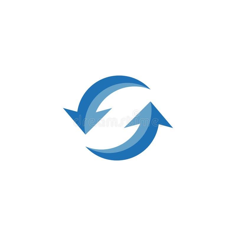 Vector del logotipo del ilustration de la flecha libre illustration