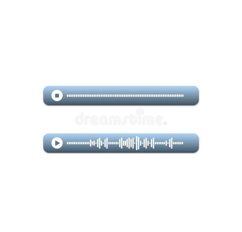 Vector del mensaje de la voz libre illustration