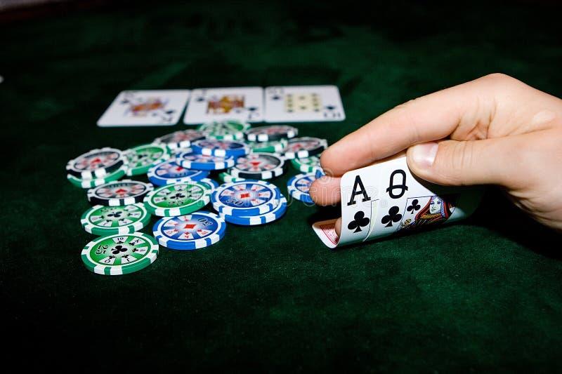 Download Vector del póker imagen de archivo. Imagen de pares, omaha - 7150995