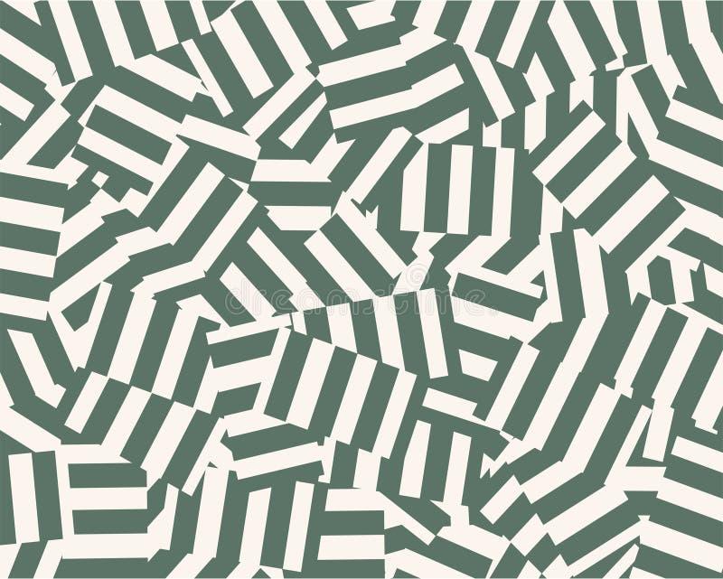 Vector del pedazo de las rayas ilustración del vector