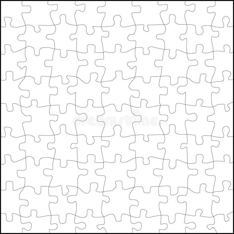 Vector del rompecabezas stock de ilustración