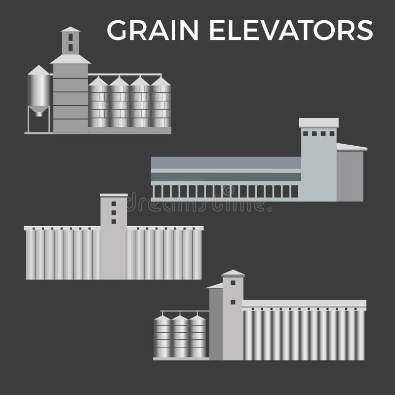 Vector del sistema de los graneros libre illustration