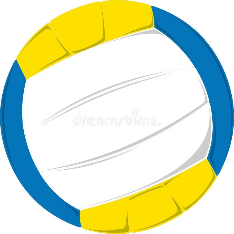 Vector del voleibol fotos de archivo libres de regalías