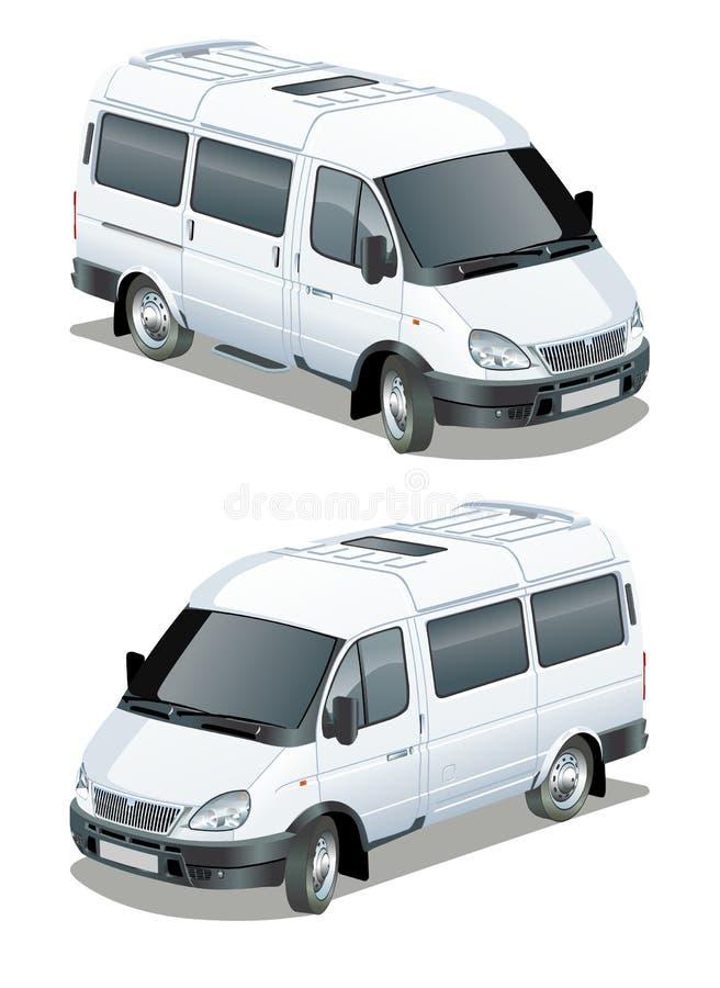 Download Vector Delivery / Cargo Van Stock Vector - Illustration of transport, mobile: 20288259