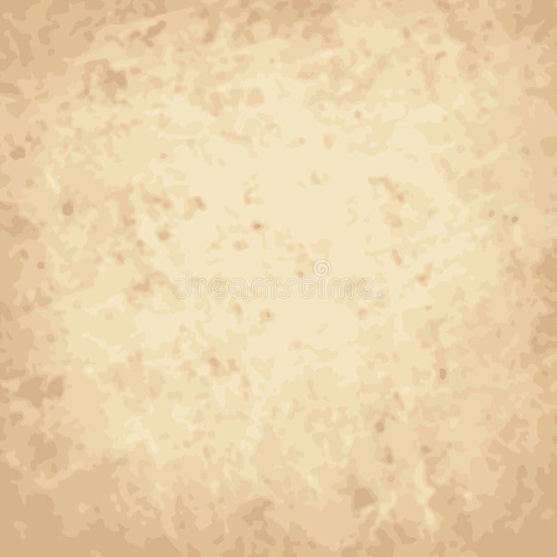 Vector den Weinlesehintergrund, zerknittert, Kratzerpapier vektor abbildung