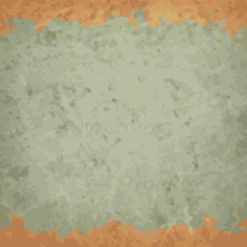 Vector den Weinlesehintergrund, zerknittert, Kratzerpapier stock abbildung
