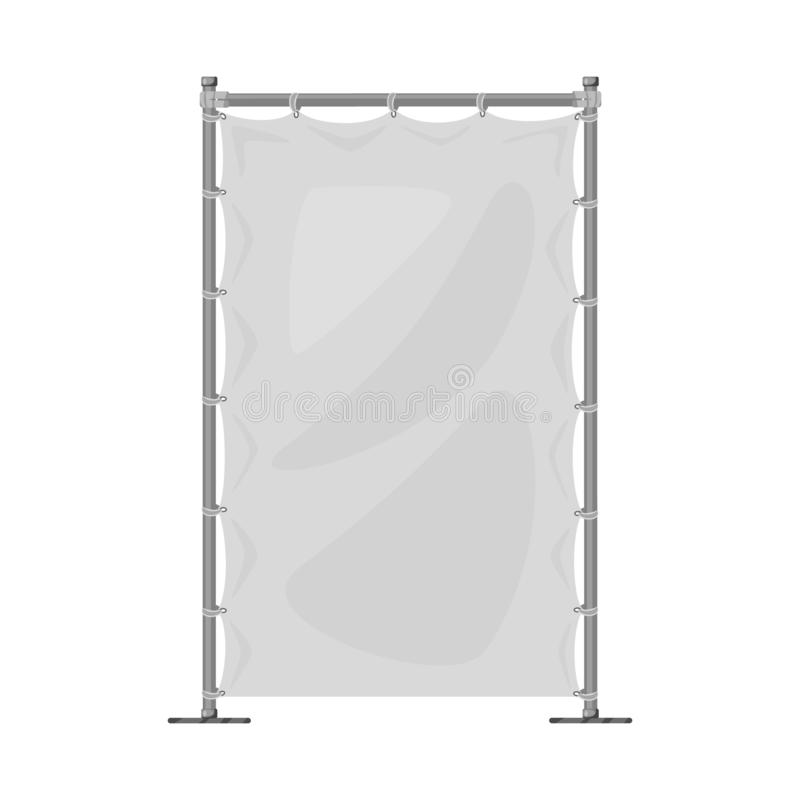 Isolated object of banner and screen sign. Set of banner and wall vector icon for stock. Vector design of banner and screen logo. Collection of banner and wall stock illustration