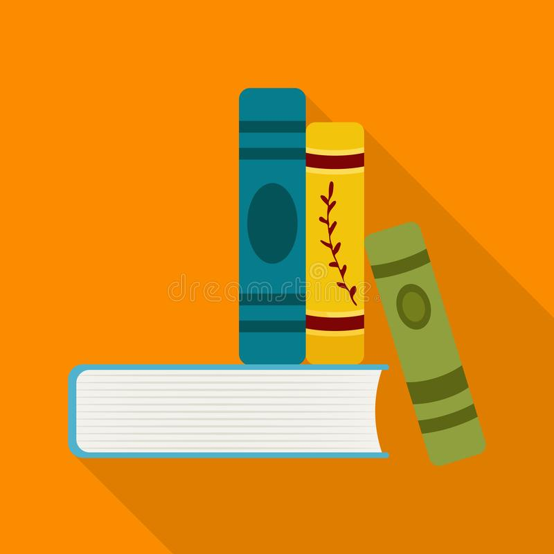 Isolated object of book and stack sign. Set of book and writing vector icon for stock. Vector design of book and stack logo. Collection of book and writing stock illustration