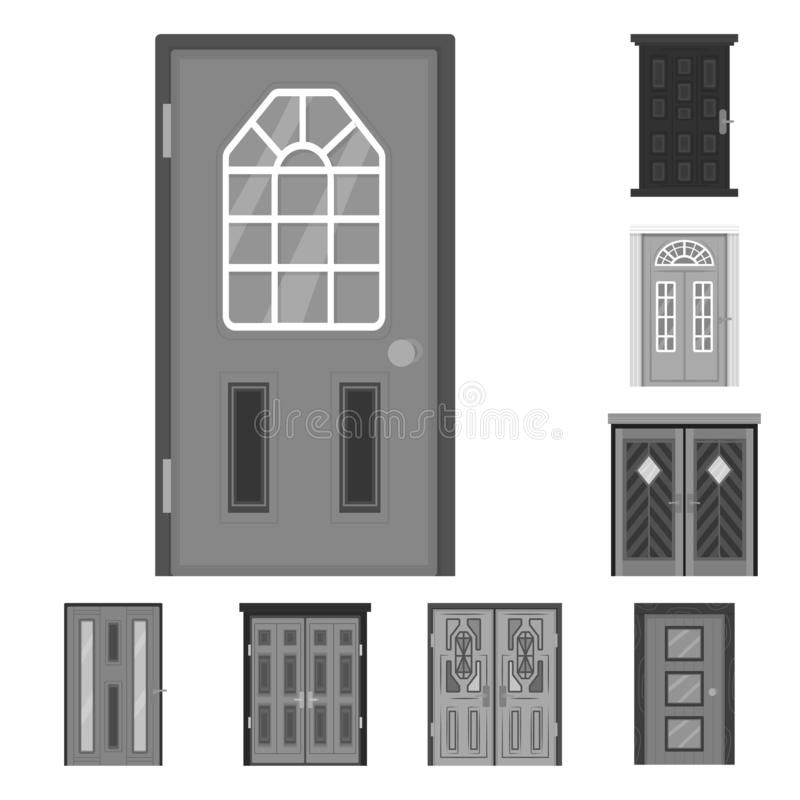 Vector design of building and office logo. Set of building and modern vector icon for stock. Vector illustration of building and office icon. Collection of royalty free illustration