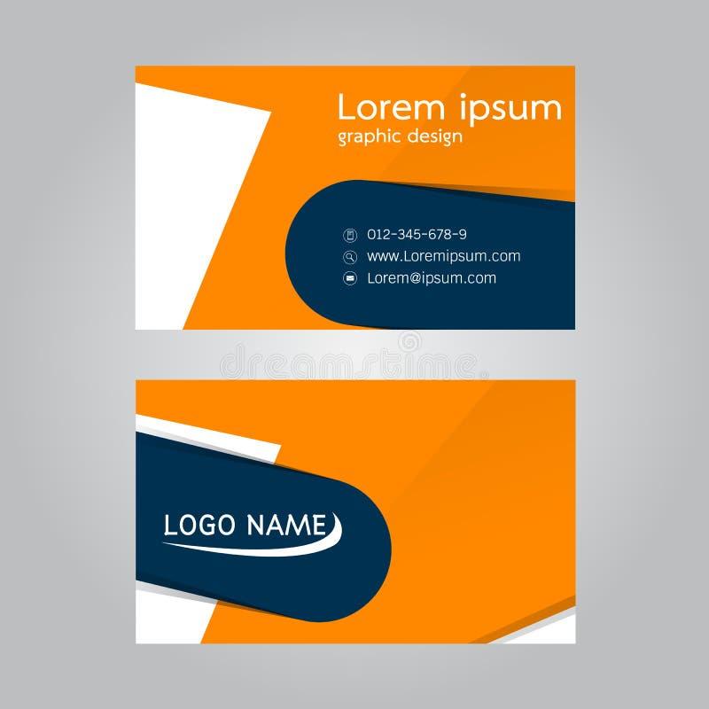 Vector Design Business Card Finance Stock Vector - Illustration of ...