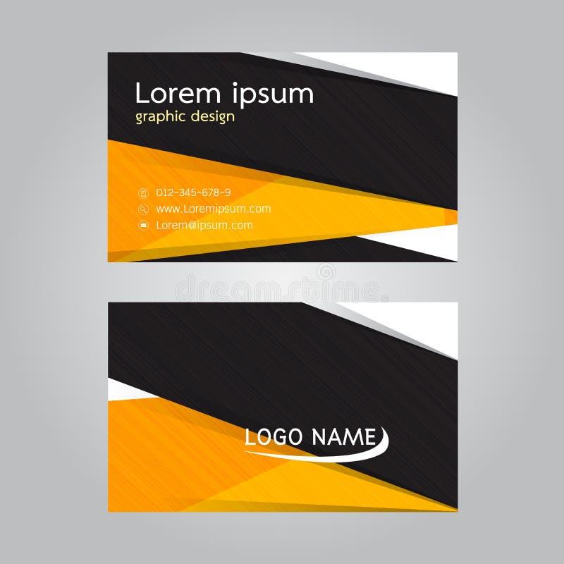 Vector Design Business Card Stock Vector - Illustration of frame ...