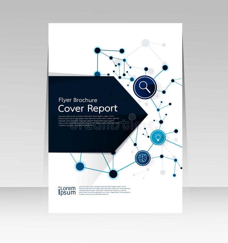 Vector design for Cover Report Brochure Flyer Poster in A4 size. Vector design for Cover Report Brochure Flyer Poster magazine in A4 size vector illustration