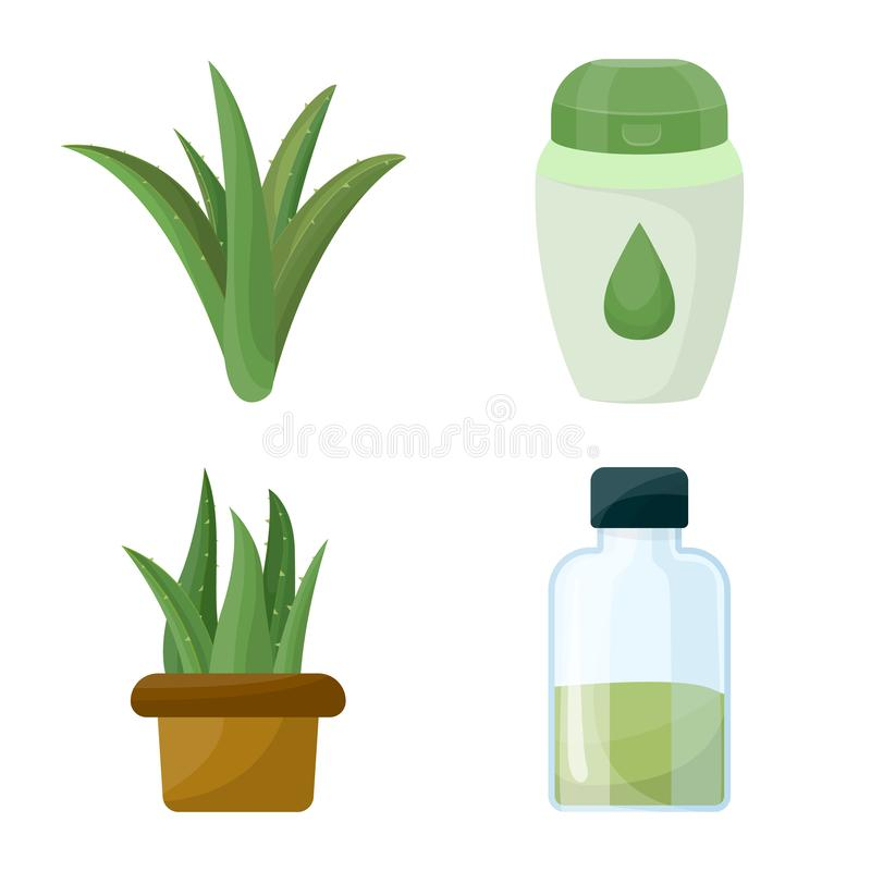 Isolated object of medicine and natural icon. Set of medicine and antibacterial stock symbol for web. Vector design of medicine and natural symbol. medicine and vector illustration