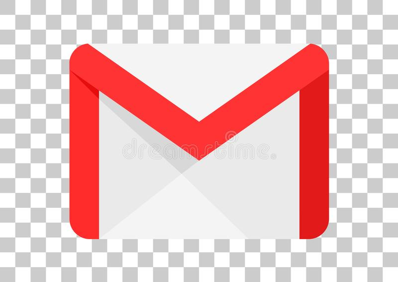 Google mail apk. Vector design of mobile app brand with trademark logo