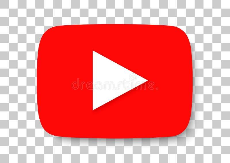 Youtube apk icon. Vector design of mobile application logo