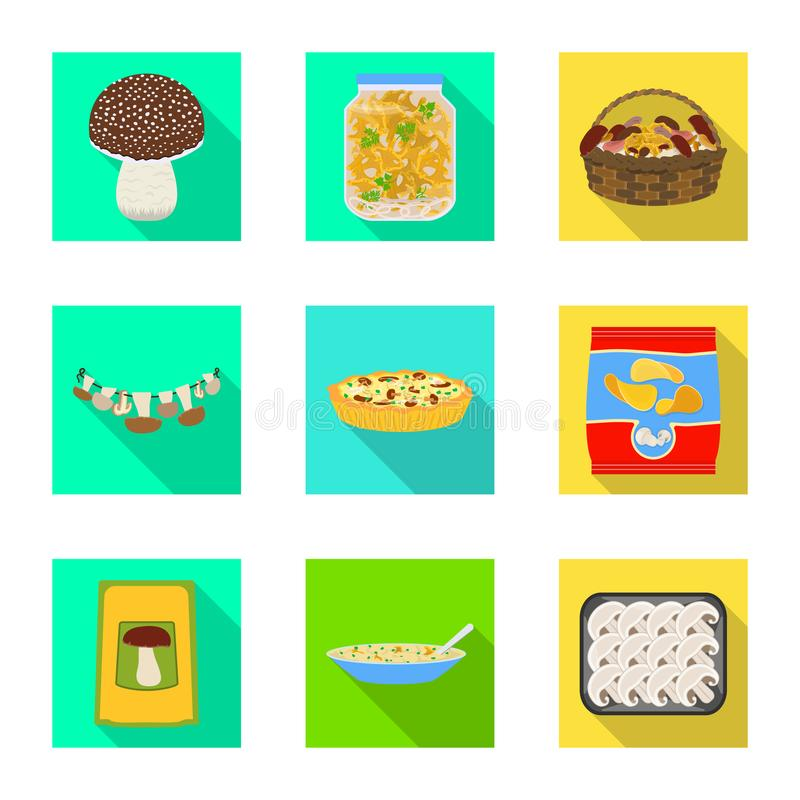 Vector design of raw and summer icon. Collection of raw and ingredient stock vector illustration. vector illustration