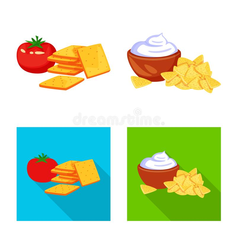 Isolated object of taste and seasonin logo. Collection of taste and organic   vector icon for stock. Vector design of taste and seasonin icon. Set of taste and royalty free illustration