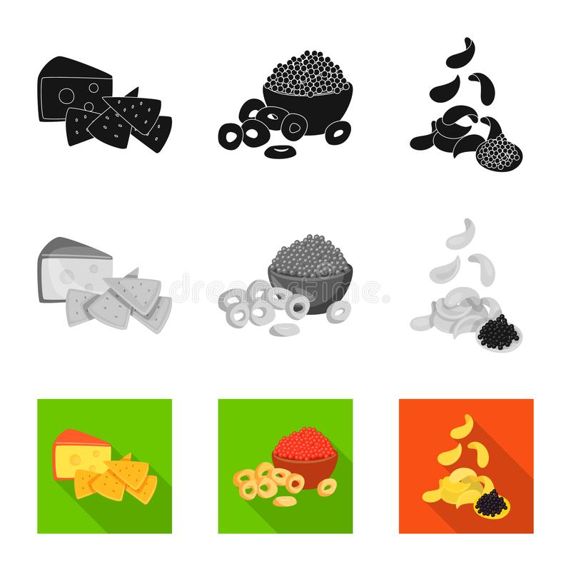 Isolated object of taste and seasonin sign. Collection of taste and organic vector icon for stock. Vector design of taste and seasonin logo. Set of taste and vector illustration